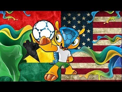 Ghana vs USA 2-1 Todos Los Goles | Mundial Brasil 2014