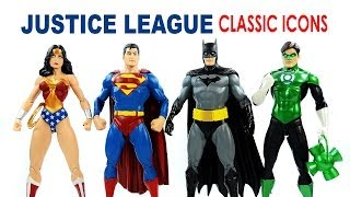 Justice League Classic Icons Superman Batman Wonder Woman