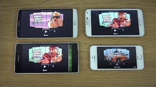 GTA San Andreas LG G3 Vs. Samsung Galaxy S5 Vs. IPhone 5S