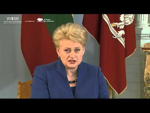 H.E Dalia Grybauskaitė on the Importance of Learning Each Day