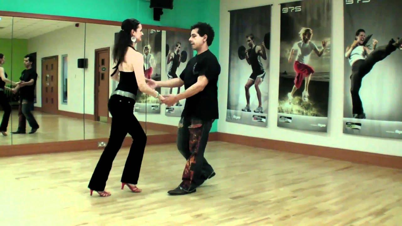 Beginners Salsa Steps  U0026 Basic Turns To Slow Salsa Music