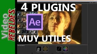 4 PLUG-INS para After Effects