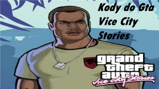 Kody Do Gta Vice City Stories Na PSP