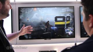 Infamous: Second Son gameplay hands-on offscreen at CES 2014