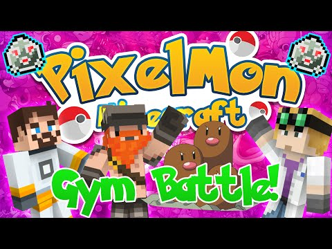 Minecraft Pixelmon (Pokemon Mod) #52 - DIGGY DIGGY DIGGLETT (Mine Gym)