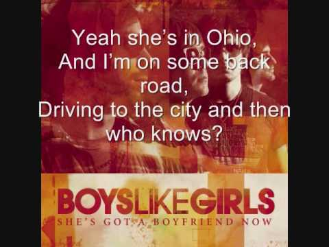 She's Got a Boyfriend Now by Boys Like Girls (With lyrics on screen!)