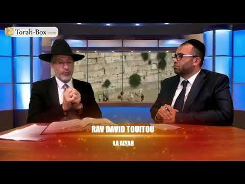 Posez vos questions au Rav David Touitou sur la ALYAH en ERETS