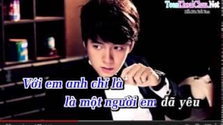 [Karaoke] Là một người em đã yêu - Ngô Kiến Huy