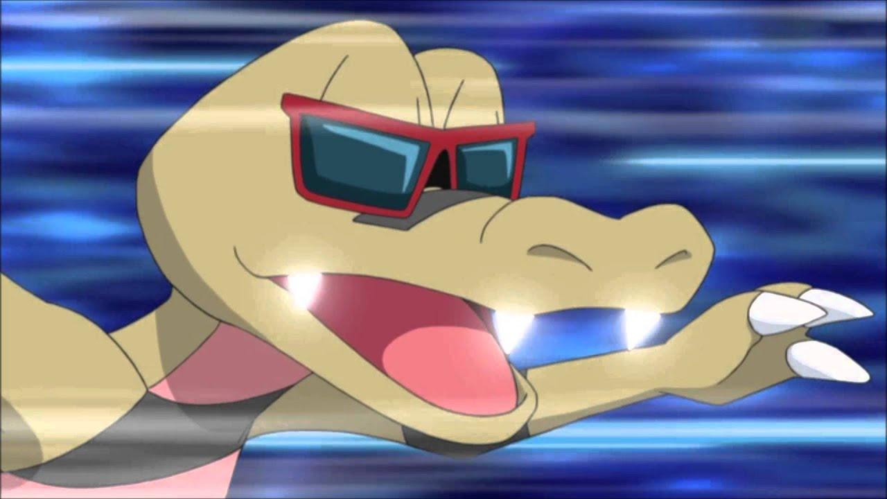 Pokemon X and Y Krokorok evolves into Krookodile - YouTube