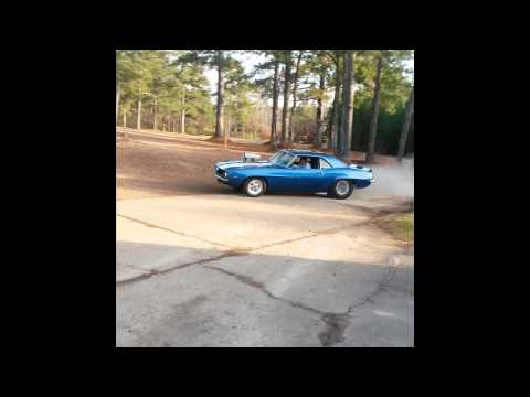 Blown 1969 Camera Driveway Burnout