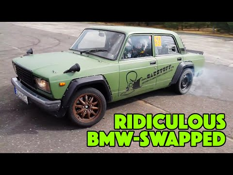 TOP 9 Absolutely Crazy Engine Swaps   Ep. 9