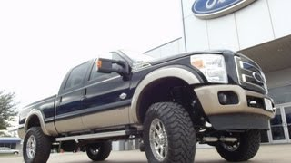 2012 Ford F250 King Ranch Diesel 4x4 6 Inch Pro Comp Stage