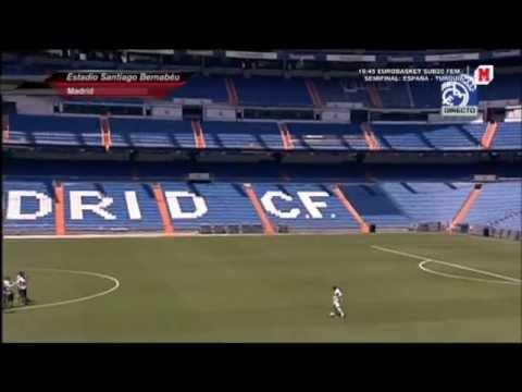 Presentación de Illarramendi con el Real Madrid