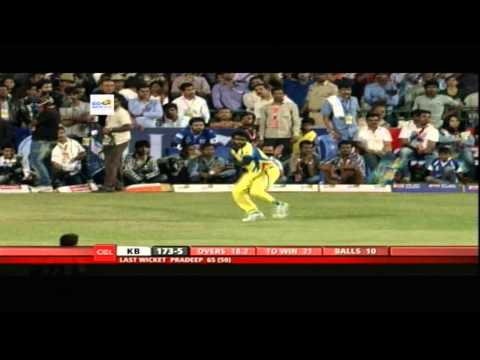 Chennai Rhinos Vs Karnataka Bulldozers 2nd Inn | Over 15-20 | Bangalore