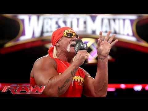 Hulk Hogan announces The Andre the Giant Memorial Battle Royal: Raw, March 10, 2014