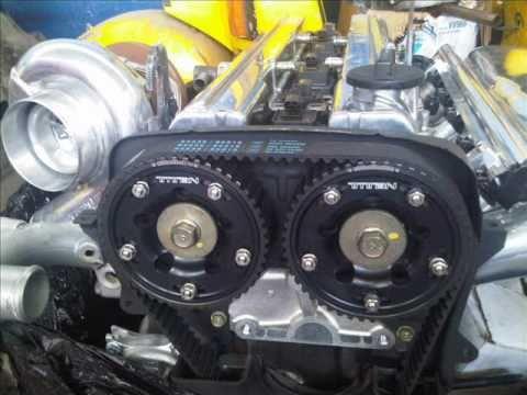 Тюненный двигатель 2JZ-GTE. 650 л.с.