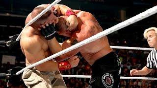 WWE Night Of Champions 2014 John Cena Vs. Brock Lesnar