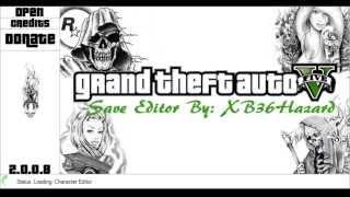 GTA V Save Editor 2.0.0.8
