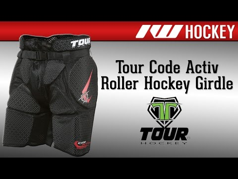Tour Code Activ Roller Hockey Girdle Review