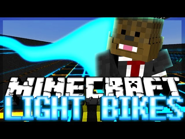 TRON Minecraft Light Bike Minigame w/ Antvenom, Bashur and NoahCraftFTW!
