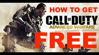 How To Get Call Of Duty: Advanced Warfare For Free On Xbox