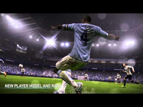 FIFA 15 Аутентичная визуализация игрока