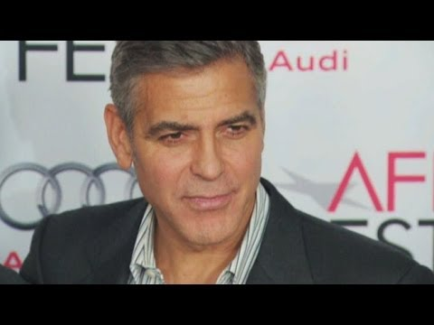 George Clooney Takes on the Press