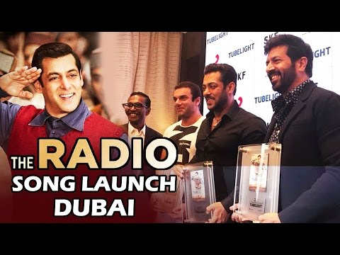 youtube video Radio Song Launch In Dubai | TUBELIGHT - Salman Khan, Sohail Khan, Kabir Khan to 3GP conversion