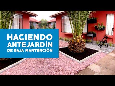 C mo hacer un antejard n de baja mantenci n youtube for Como adornar mi jardin
