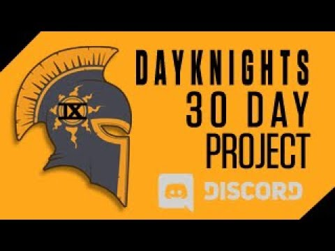Join the DayKnight 30-day project challenge!