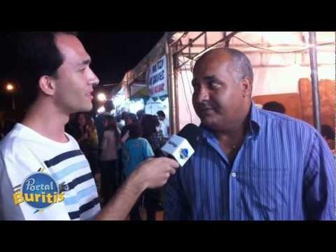 Tv PortalBuritis no 17º Arraiá Público de Buritis MG