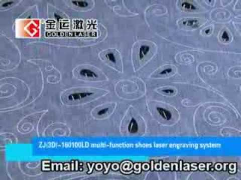 CO2 Laser Cutting Engraving Machine for Fabric/Leather/Textile
