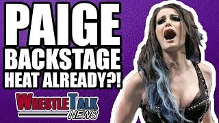 Paige Backstage Heat At WWE Raw ALREADY?! | WrestleTalk News Nov. 2017