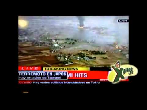 Tsunami Japan and Earthquake 8,9, Terremoto y Tsunami en Japon 10-03-2011