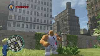 LEGO Marvel Superheroes Future Foundation Thing Gameplay