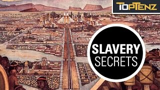 Top 10 Uses of SLAVERY You DIDN'T Learn About in SCHOOL
