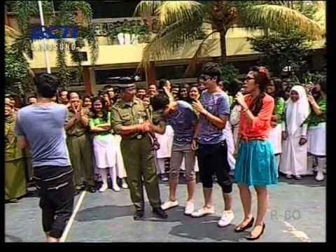 Dahsyat Ayo Sekolah presented Treeji di SMA Kartika X-1 Jakarta (04/10) Courtesy RCTI