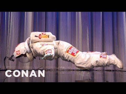 CONAN Exclusive: World's Shortest Freefall! - CONAN on TBS
