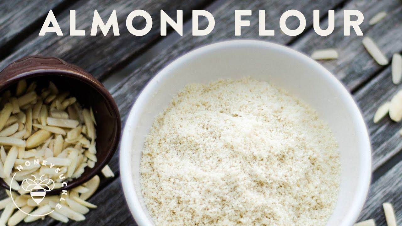 How To Make Almond Flour Honeysucklecatering Youtube