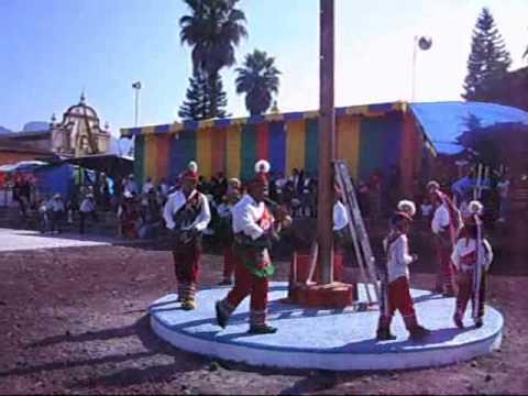 Danza de los Voladores de Hueyapan, Puebla.