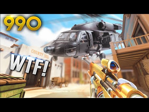 *WTF* Dafran FOUND A HELICOPTER!? | Overwatch Daily Moments Ep. 990 (Funny and Random Moments)
