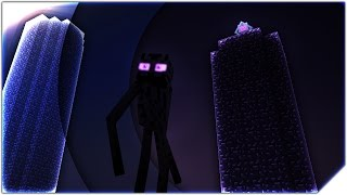 ENDERMAN LIFE - Minecraft Animation ( Part 1 & 2 )