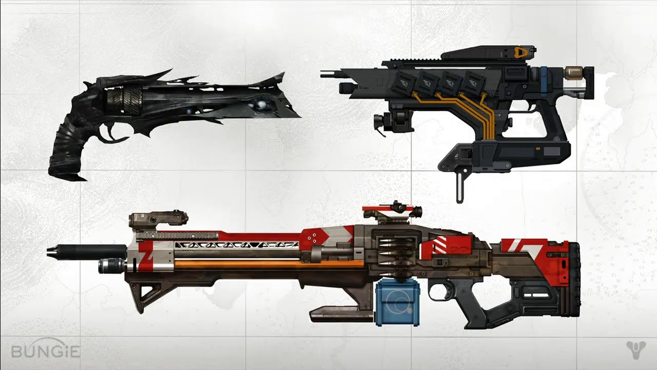 Destiny quot news weapons armor and vehicles destiny exotic guns