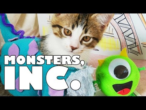 Disney Pixar's Monsters, Inc. (Cute Kitten Version)