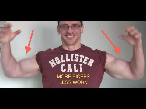 Best Advice on Web for Bigger Biceps - Using Hammer Curls and Dumbbell Curls