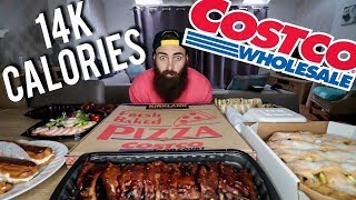 The Ultimate Costco Banquet (14,800 Wholesale Calories) | BeardMeatsFood