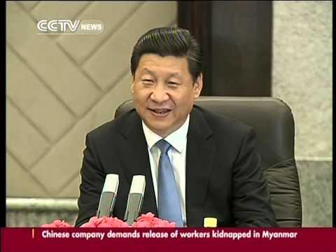President Xi meets UN chief Ban Ki-moon in Shanghai for CICA summit