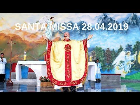 Santa Missa | 28.04.2019 | Padre José Sometti | ANSPAZ