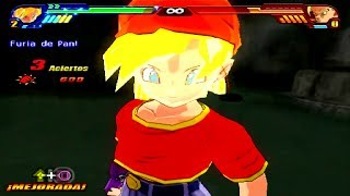 Dragon Ball Z Budokai Tenkaichi 3 Version Latino *Pan SSJ