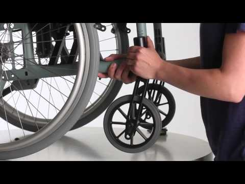 Wheelchair Etac Cross 5 - Guide - Adjust Castor Housing ENG